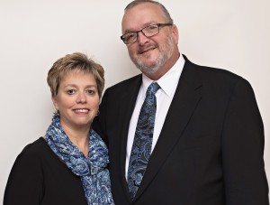 Amy and Wes Dellinger of Brownstone Real Estate